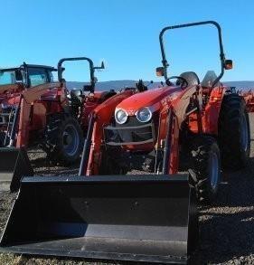 2018 Massey Ferguson 2706E Tractor