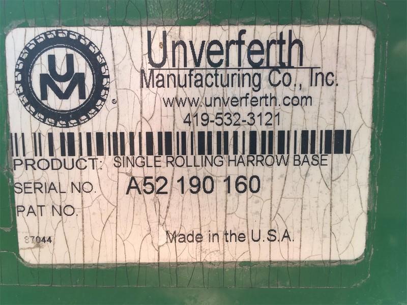 2009 Unverferth 165 Harrow