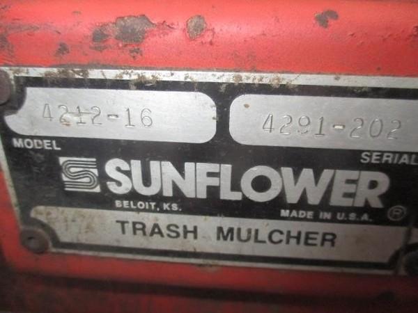 1985 Sunflower 4212-16 Disk Chisel