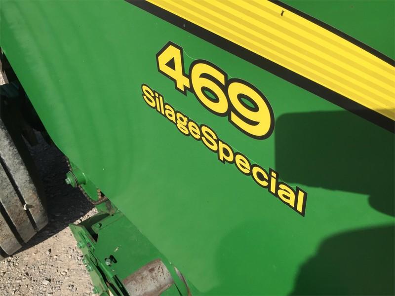 2015 John Deere 469 Silage Special Round Baler