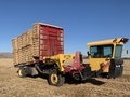 2017 New Holland H9880 Bale Wagons and Trailer