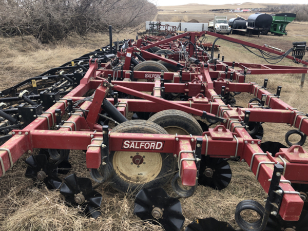 2012 Salford 570RTS Vertical Tillage