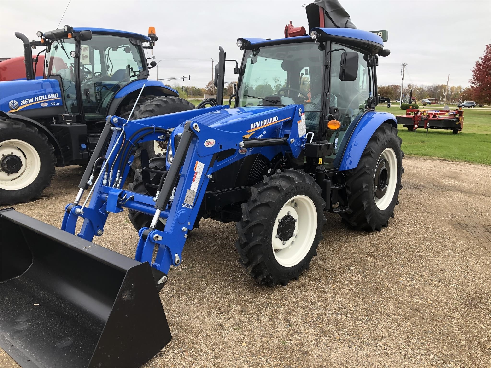 2019 New Holland Workmaster 65 Tractor