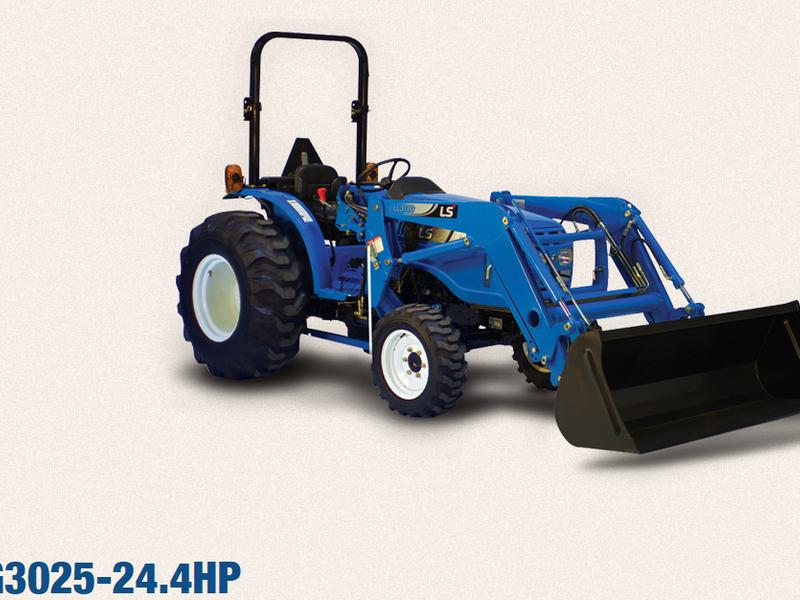 2019 LS XG3025 Tractor