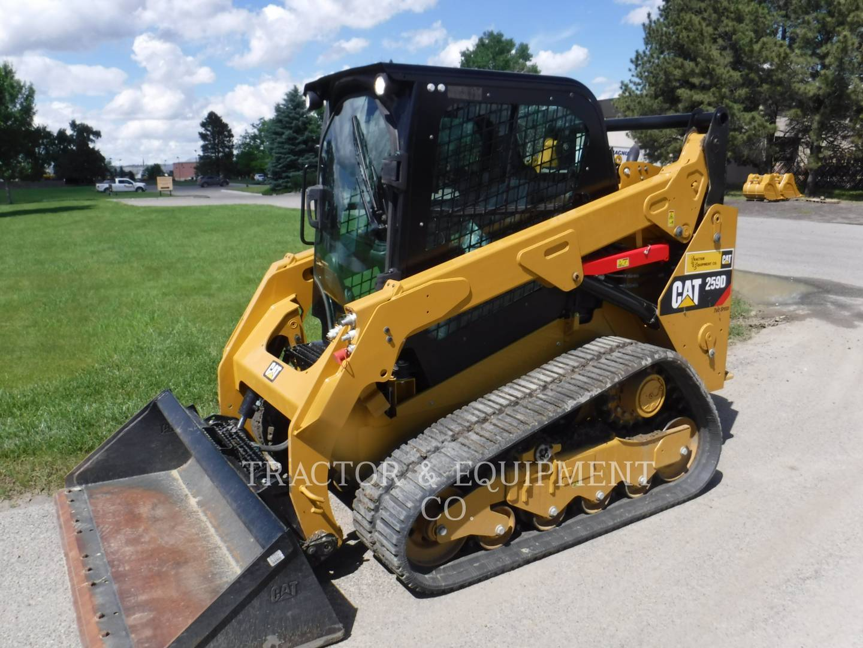 2017 Caterpillar 259D H2CB Skid Steer