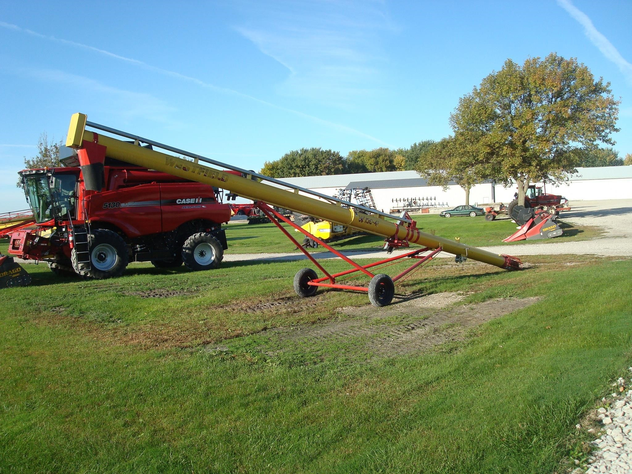 2010 Westfield WR130-41 Augers and Conveyor