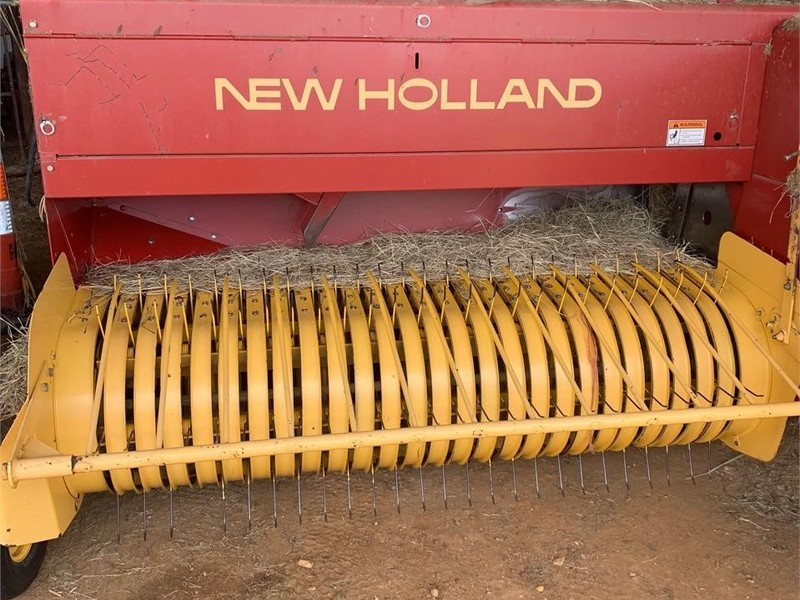 2004 New Holland 575 Small Square Baler