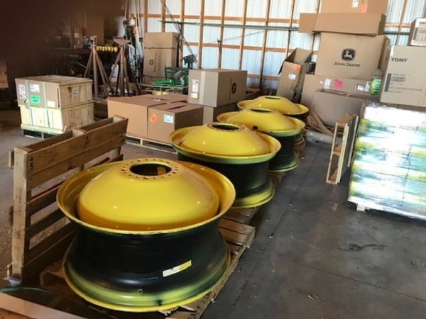 John Deere RIMS Wheels / Tires / Track