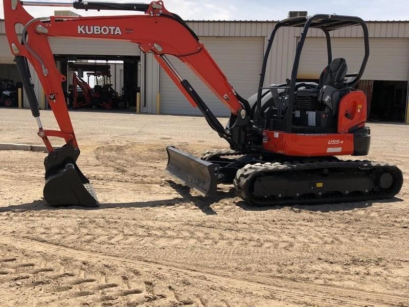 2017 Kubota U55-4 Excavators and Mini Excavator