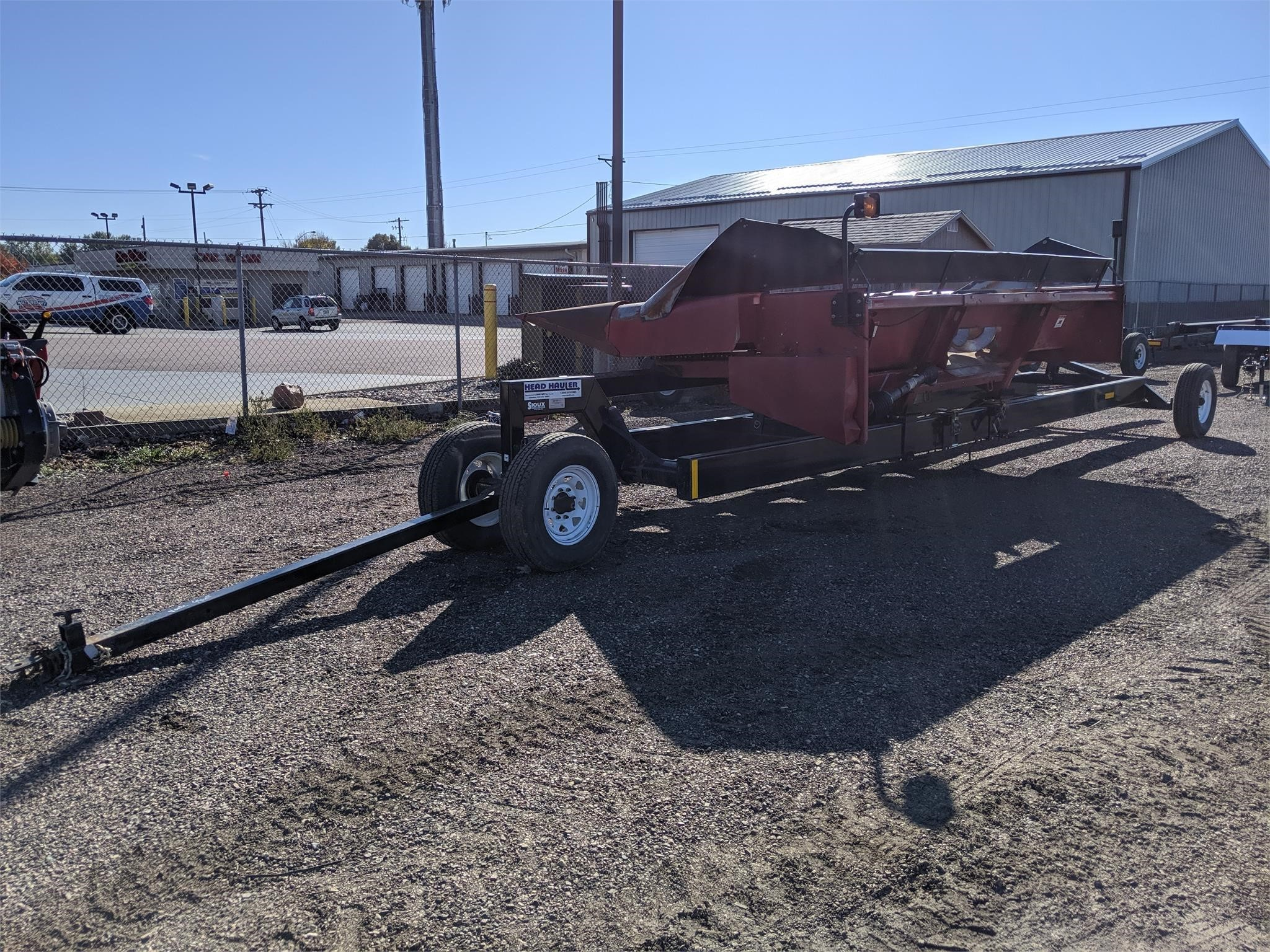 Duo Lift DL32 Header Trailer