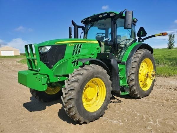 2017 John Deere 6215R Tractor