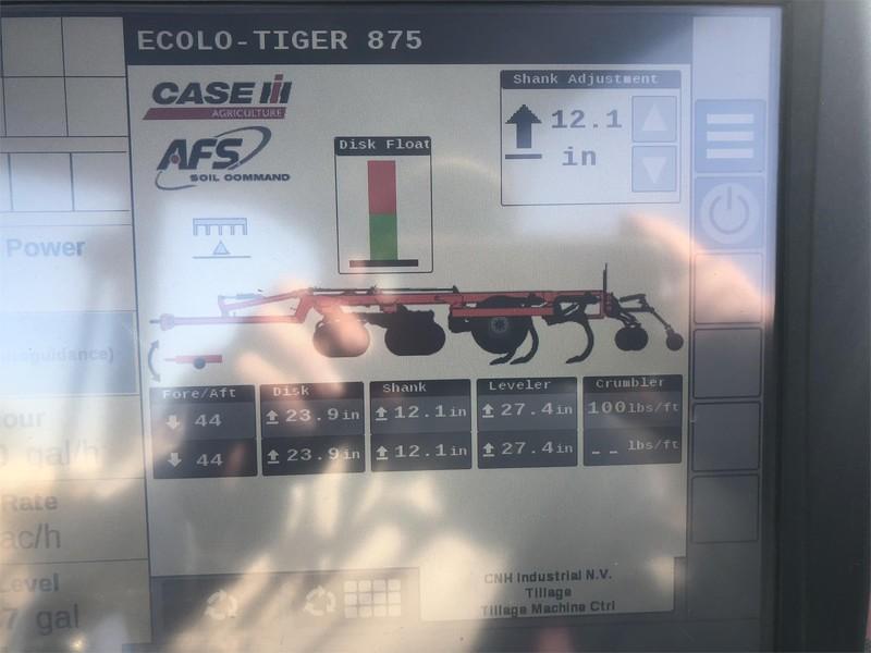 2019 Case IH Ecolo-Tiger 875 Disk Chisel