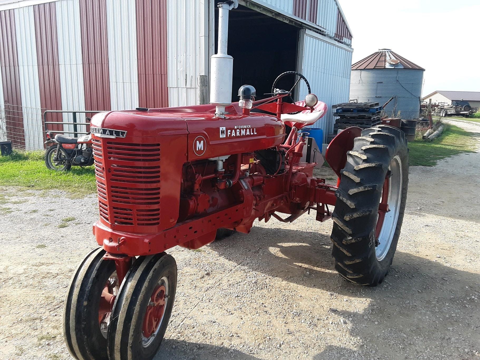 1950 Farmall M Tractor