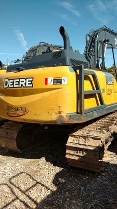 2016 Deere 180G LC Excavators and Mini Excavator