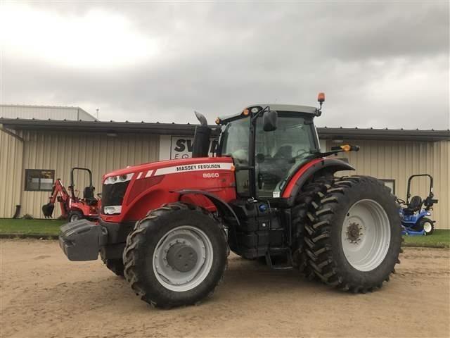 2013 Massey Ferguson 8660 Tractor