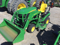 2017 John Deere 1025R loader and mower Under 40 HP