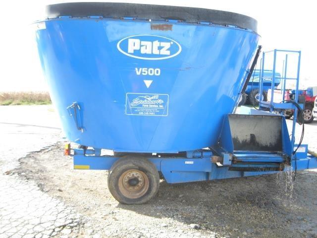 Patz 500 Grinders and Mixer