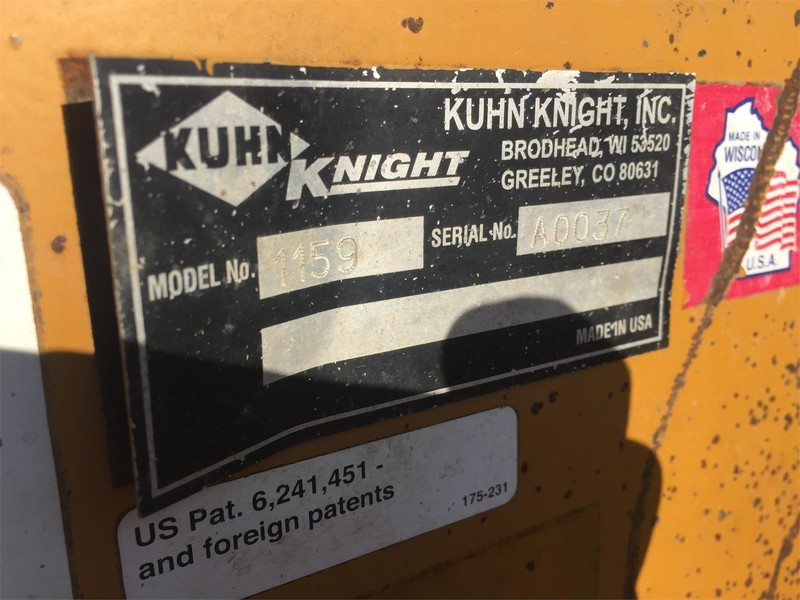 Kuhn Knight 1159 Manure Spreader