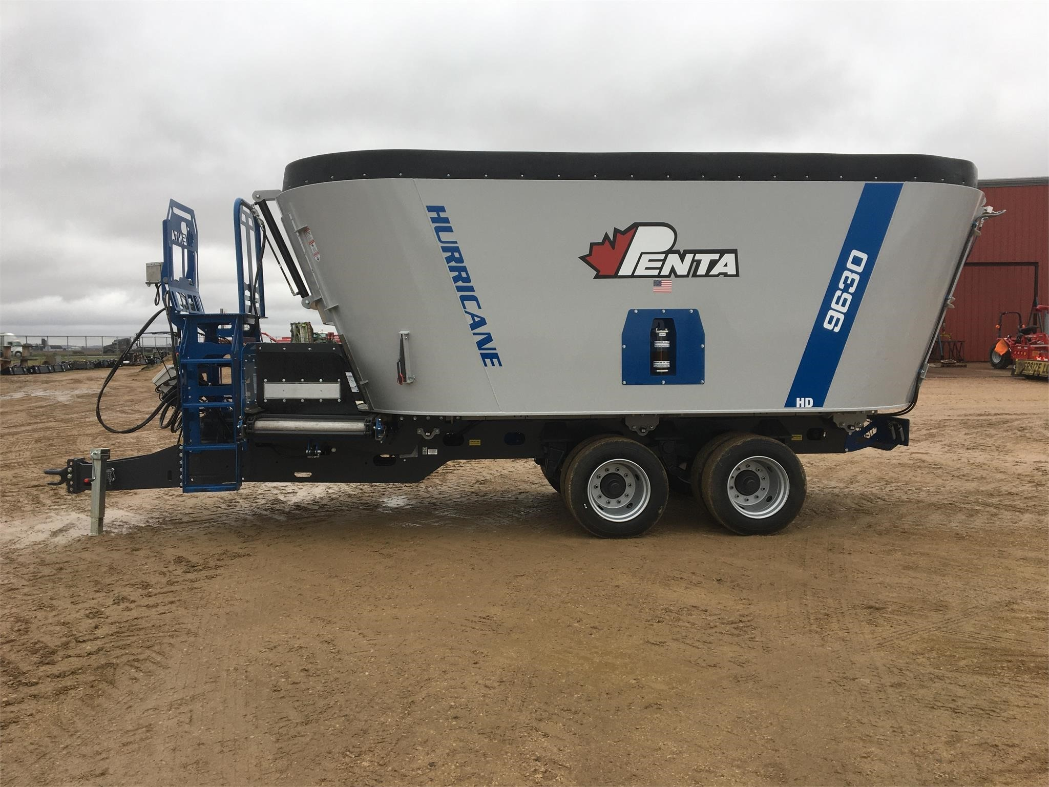 2019 Penta 9630 Grinders and Mixer