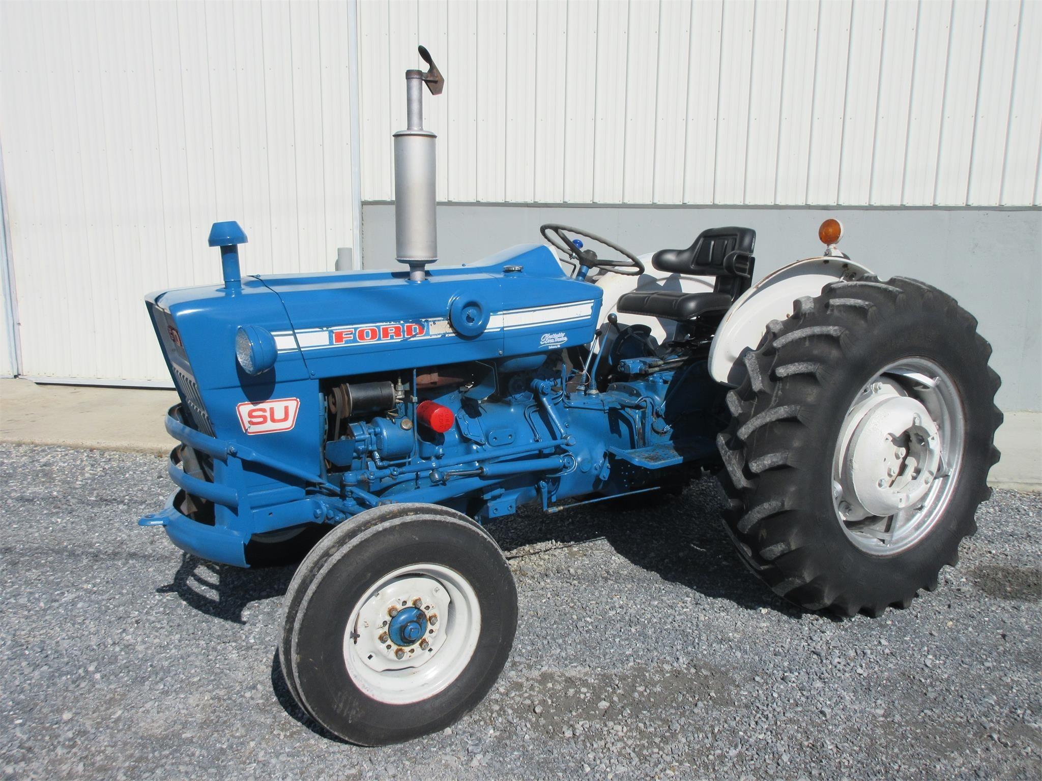 1973 Ford 4000SU Tractor