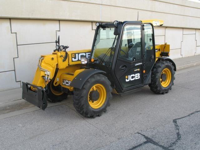 2019 JCB 525-60 AGRI PLUS Telehandler