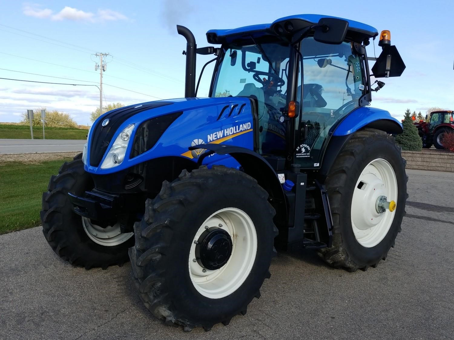 2019 New Holland T6.155 Tractor