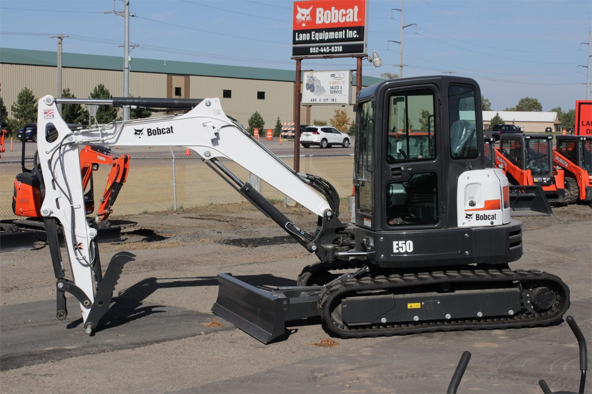 2020 Bobcat E50 Excavators and Mini Excavator