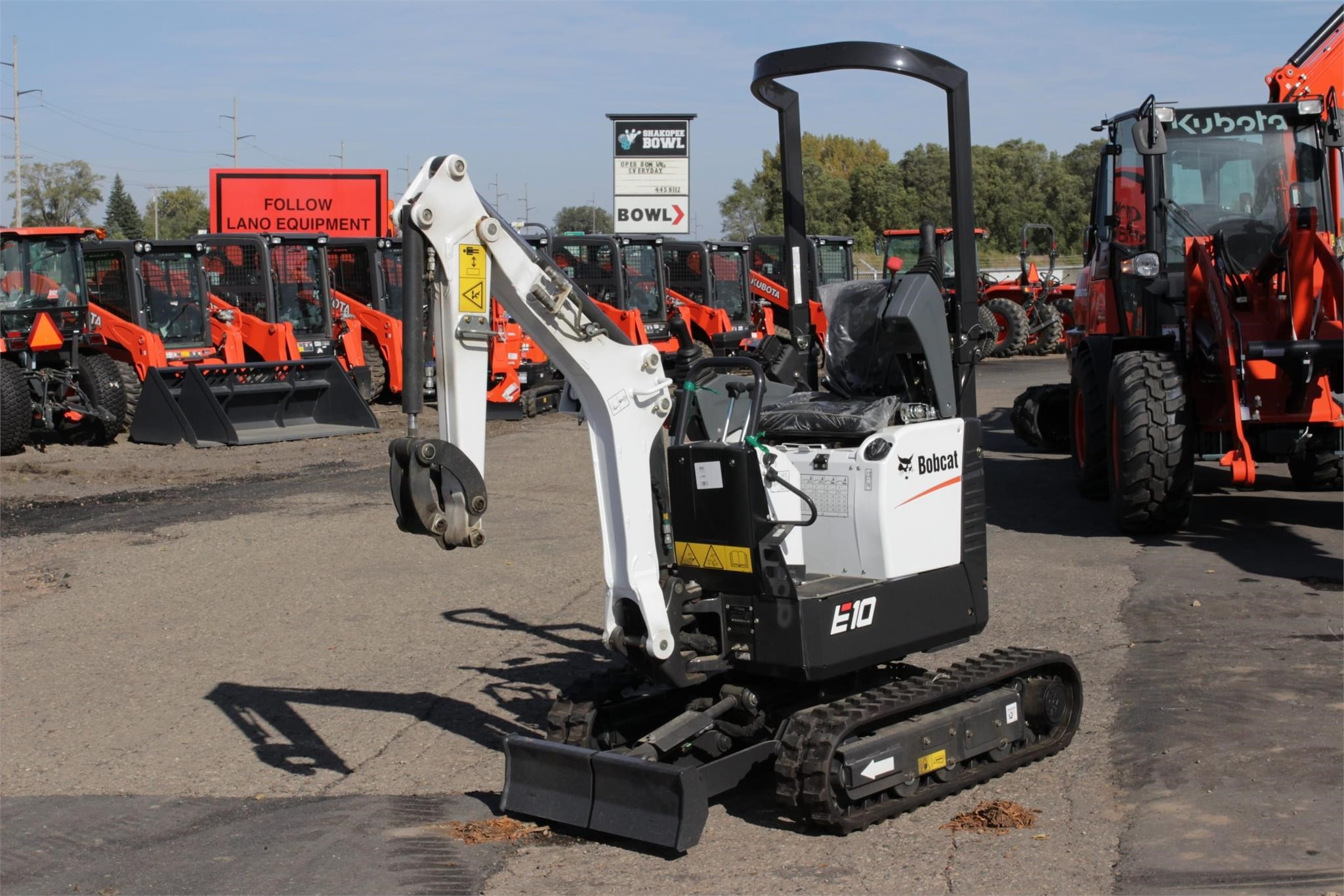 2020 Bobcat E10 Excavators and Mini Excavator