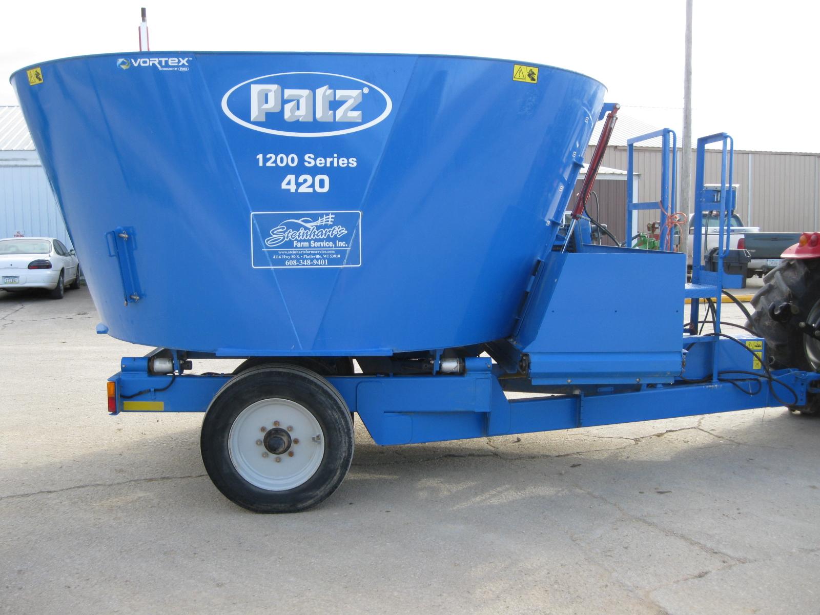 2016 Patz 420 Grinders and Mixer