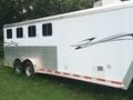 2003 Featherlite FEATHERLITE 8541 4 HORSE SLANT TRLR Horse Equipment