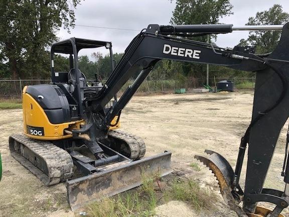 2018 Deere 50G Backhoe
