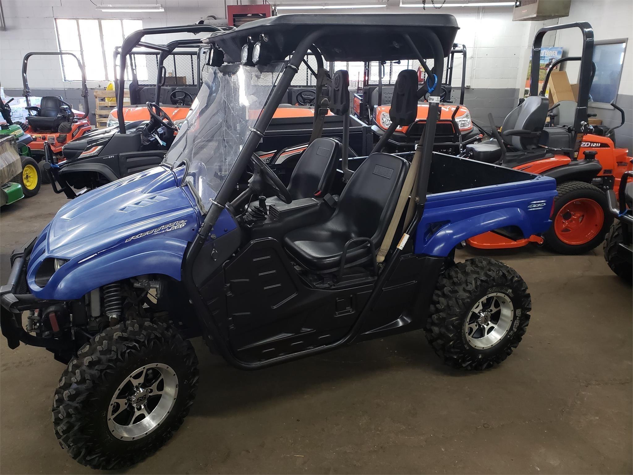 2007 Yamaha Rhino 660 ATVs and Utility Vehicle