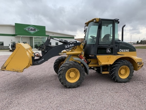 2015 Deere 324K Wheel Loader