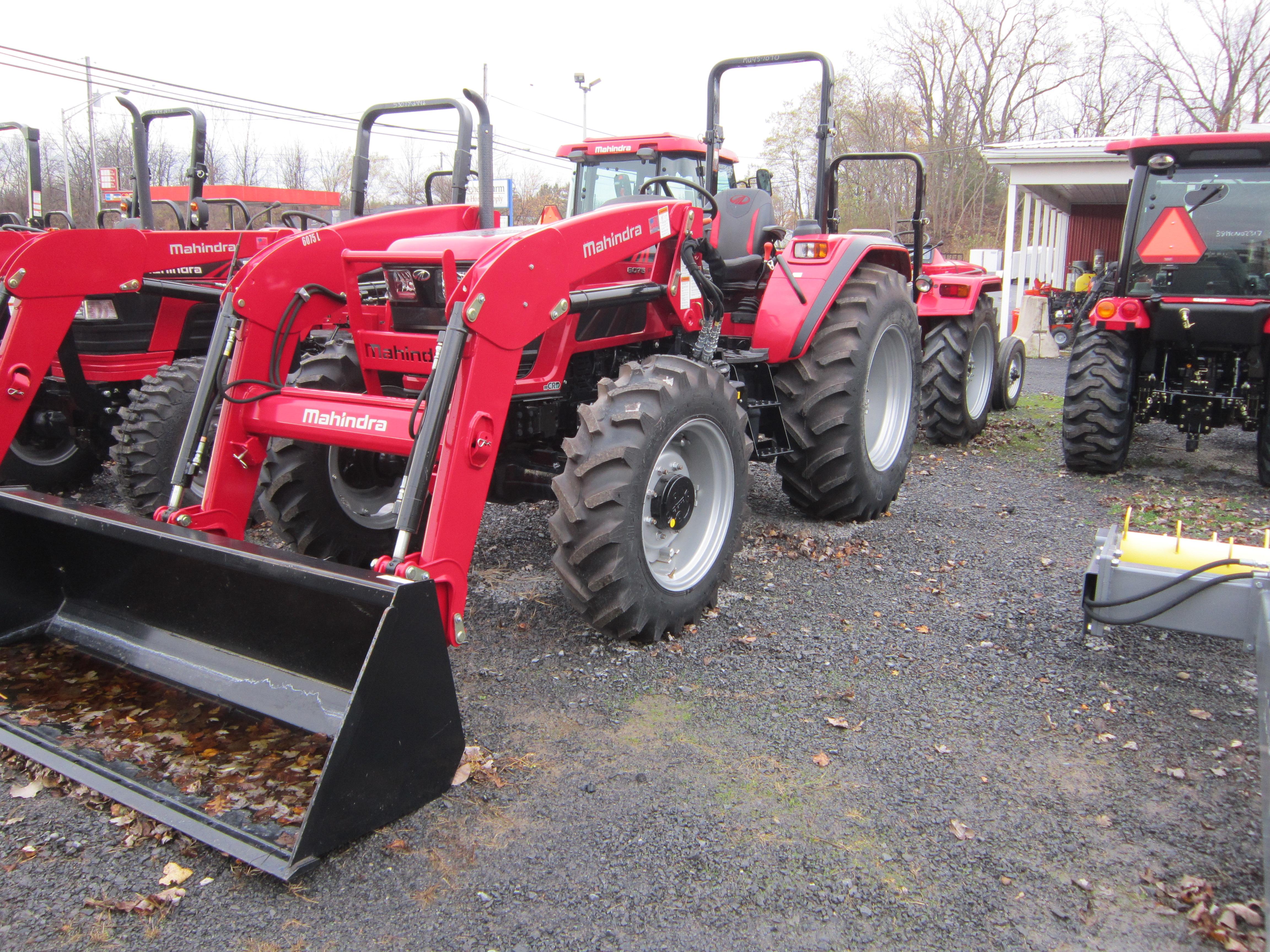 2018 Mahindra 6075 Tractor