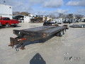 1991 Towmaster Equipment Deckover Flatbed Trailer