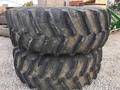 John Deere FS 650/85R38 Combine Duals Wheels / Tires / Track