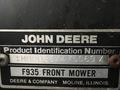 1988 John Deere F935 Lawn and Garden