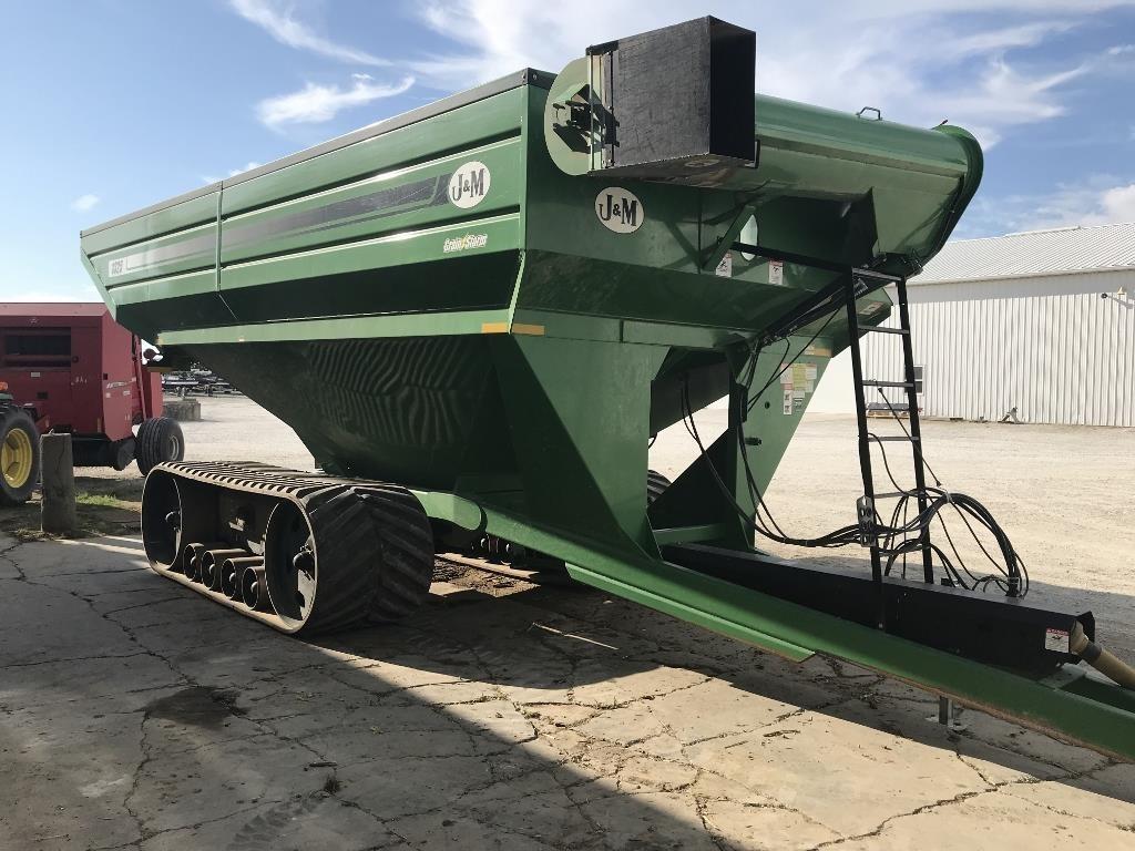 2011 J&M 1325-20T Grain Cart