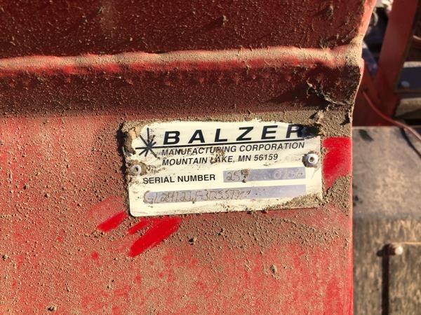 2006 Balzer 1200 Flail Choppers / Stalk Chopper