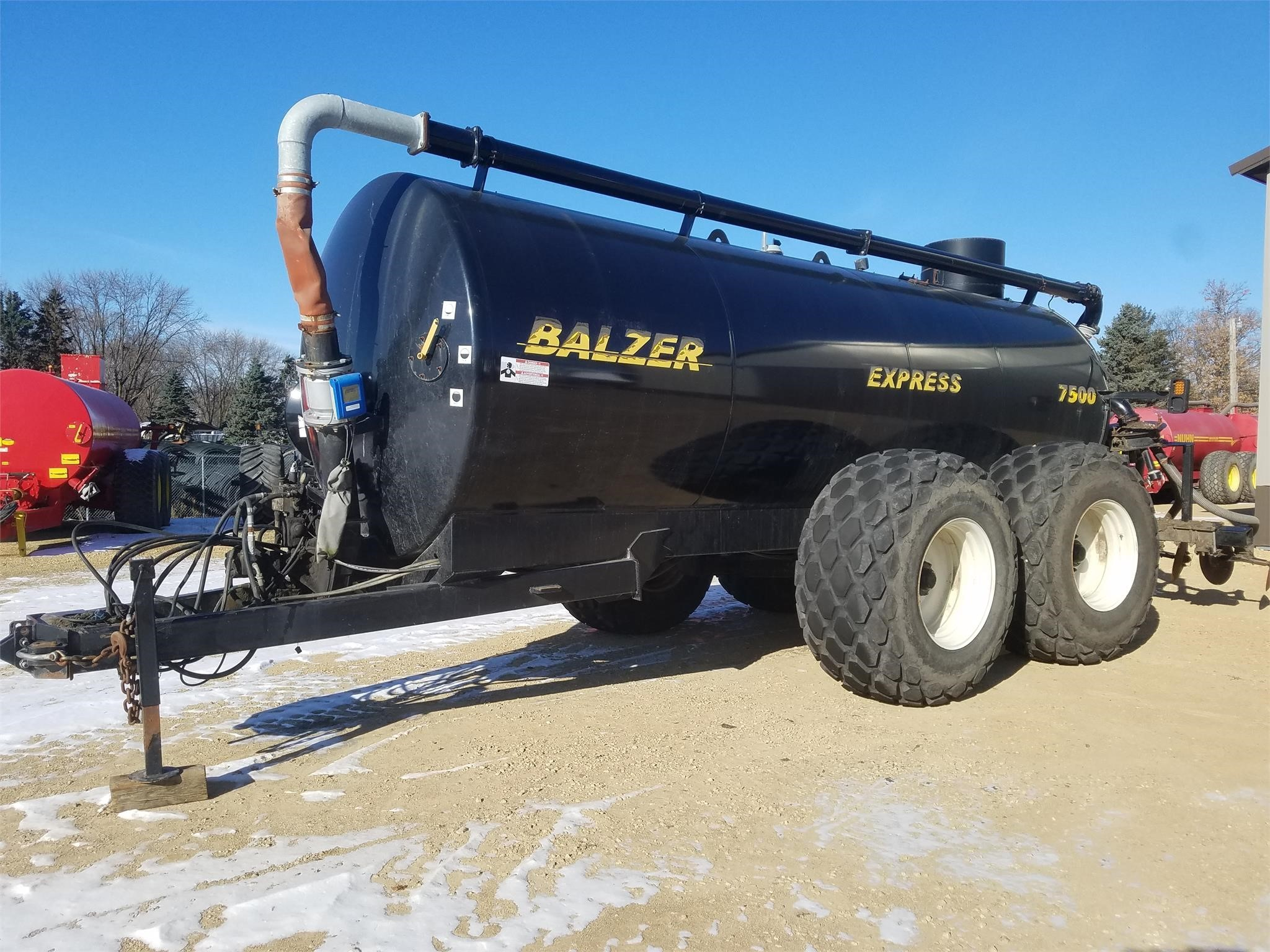 Balzer 7500 Express Manure Spreader