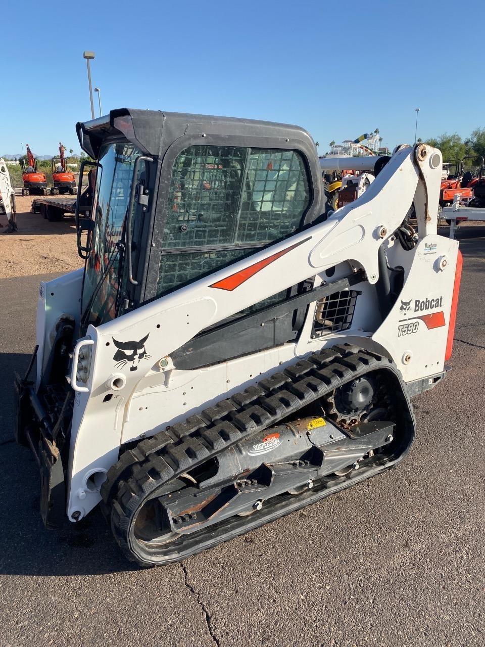 2019 Bobcat T590 Skid Steer