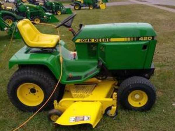 John Deere 420 Lawn And Garden For Sale Machinery Pete