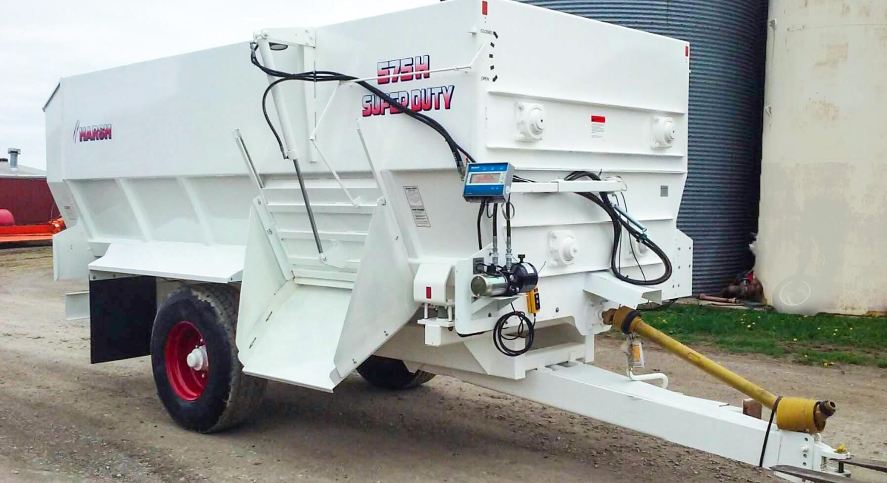 2020 Harsh 575H Grinders and Mixer