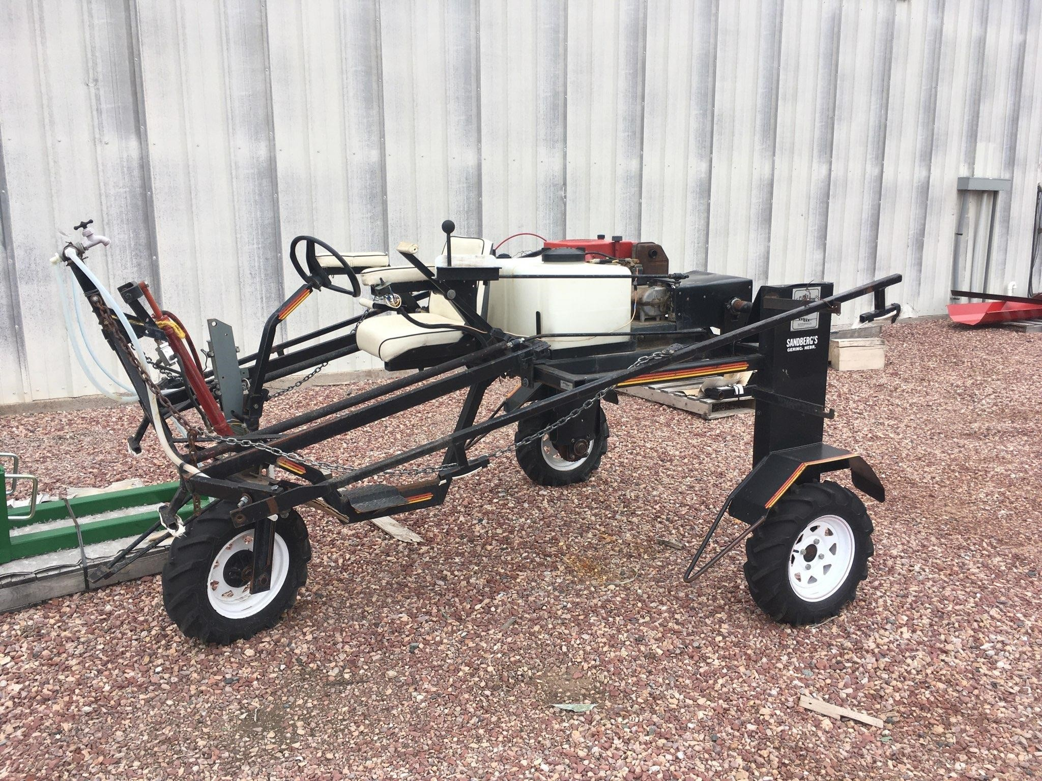 May Wes QUICK FIT 32 Header Trailer