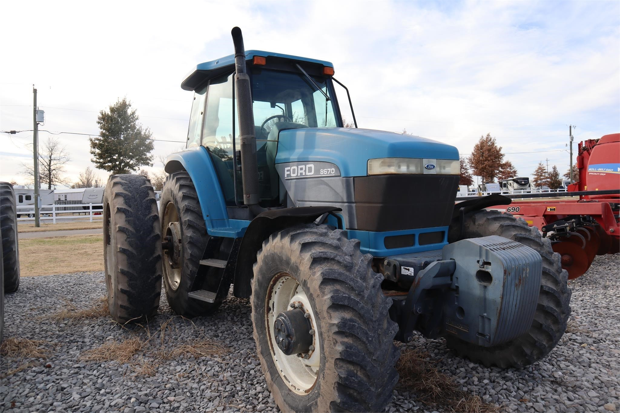 1994 Ford 8670 Tractor