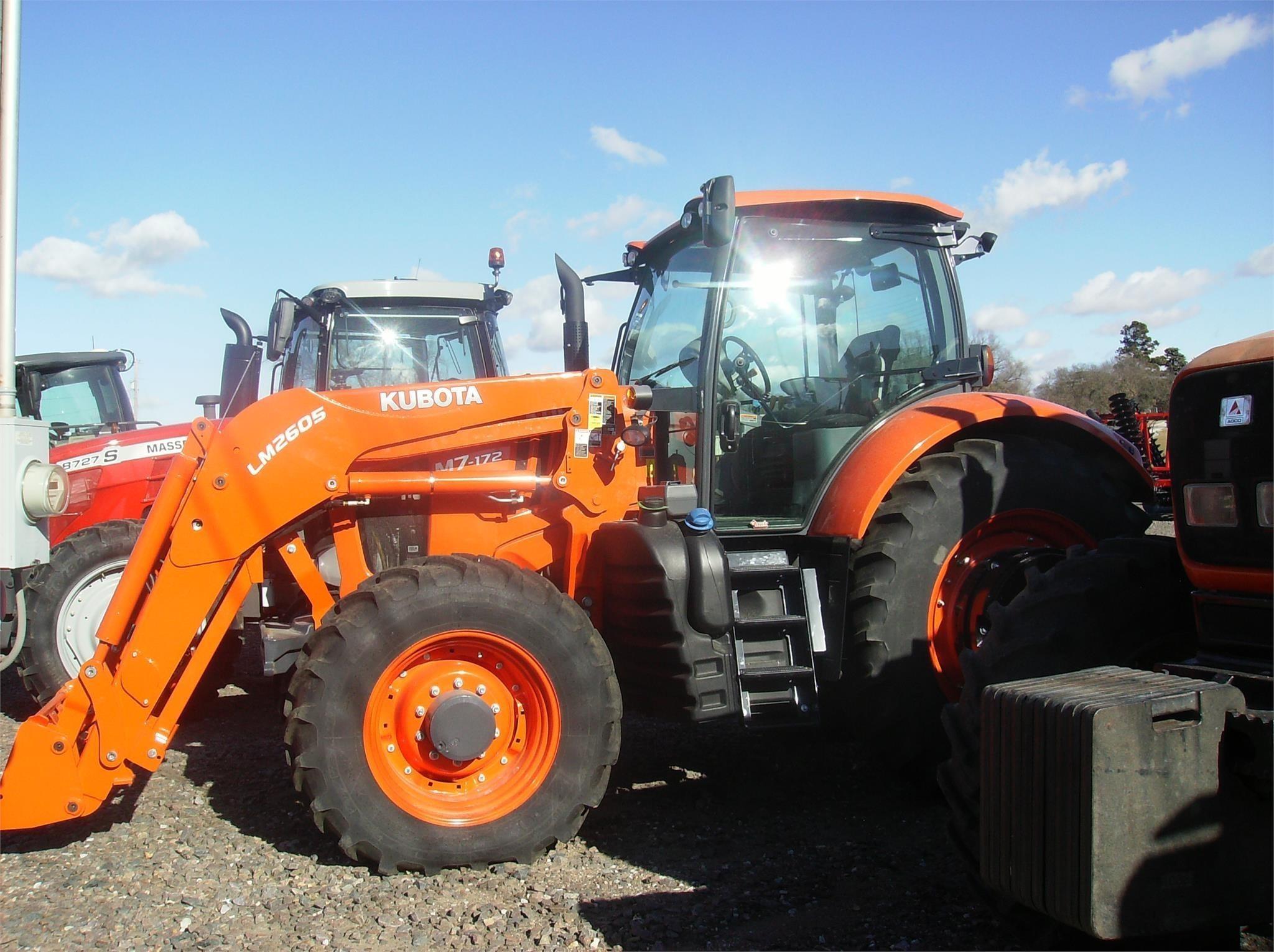 2019 Kubota M7-172 Tractor