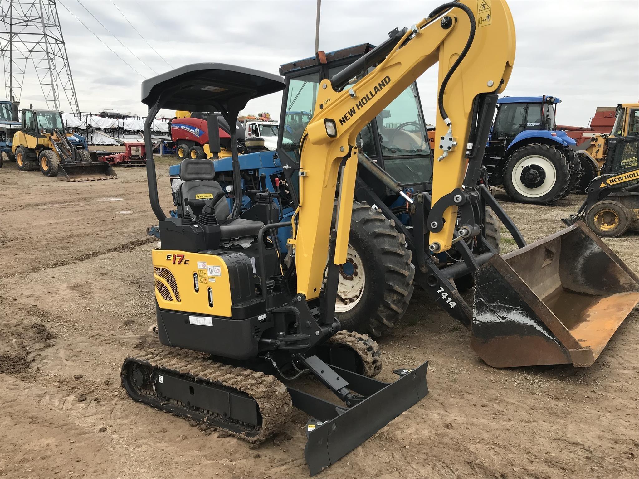 2019 New Holland E17C Excavators and Mini Excavator