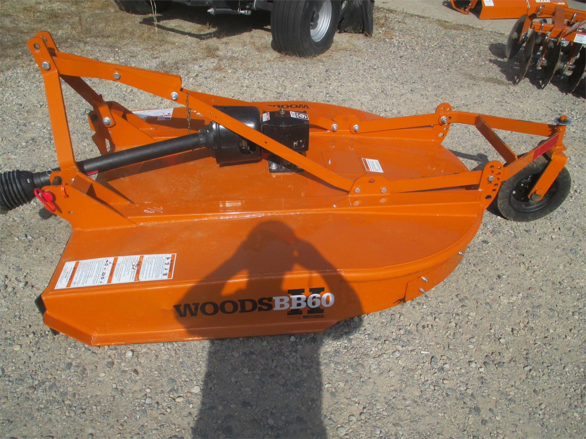 2019 Woods BB60 Rotary Cutter
