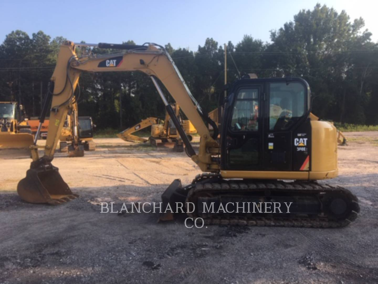 2015 Caterpillar 308E2CRSB Excavators and Mini Excavator