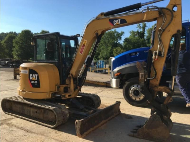 Used Caterpillar 305 5E CR Excavators and Mini Excavators